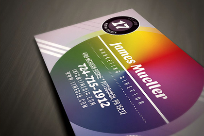 Vintage business card template free design resources colorful business card templates cheaphphosting Choice Image