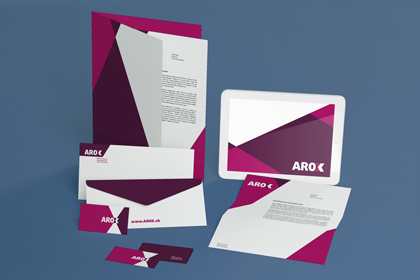 arox - free stationery psd mockup - free design resources, Powerpoint templates