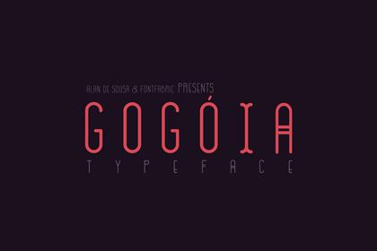 gogoia-free-font