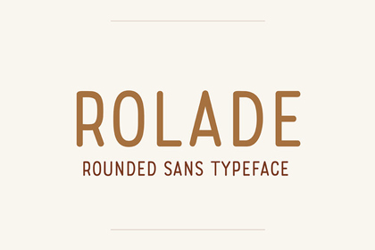rolade-free-font
