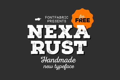 Nexa-Rust-Free-Font