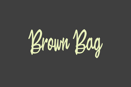 brown-bag-free-font