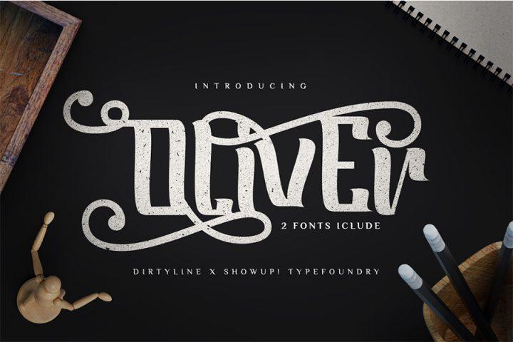 Oliver Typeface