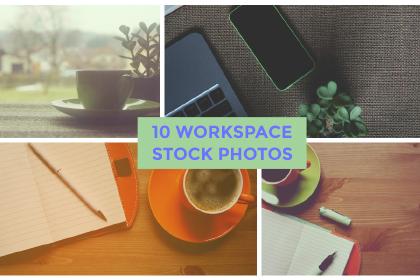 10 Workspace Desktop Photos