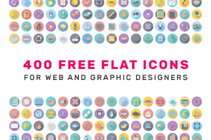 400 Free Flat Icons