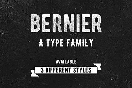 Bernier Free Typefamily