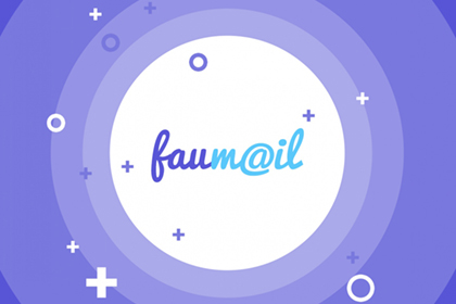 Faumail Mobile App PSD