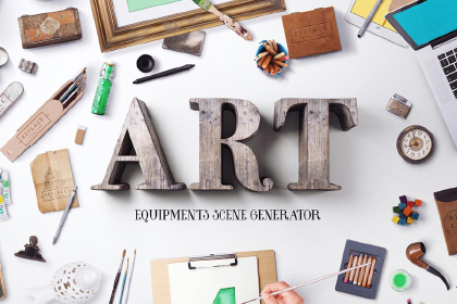 Free Demo Of Art Equipments Scene Generator