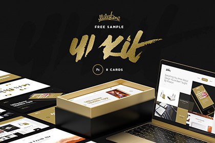 Milestone UI Kit : Free Sample