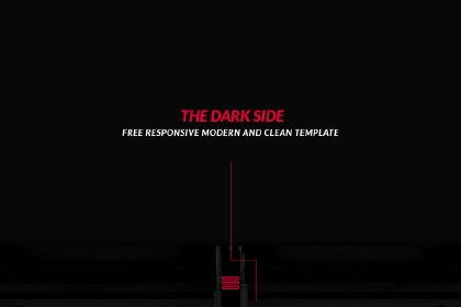 The Dark Side a Free Portfolio PSD
