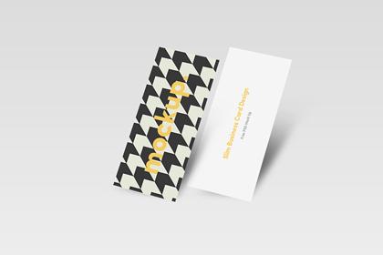 Free-Slim-Business-Card-Mock-Up