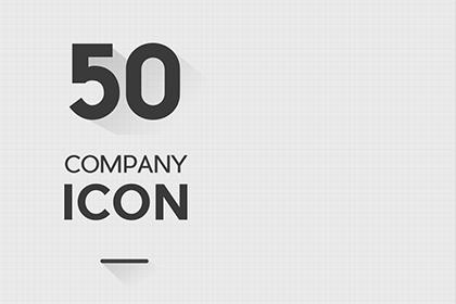 50 Company Icon Set