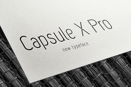 Capsule X Pro Free Font