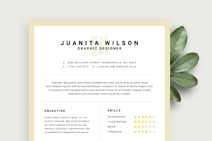clean resume template free design resources - Clean Resume Templates
