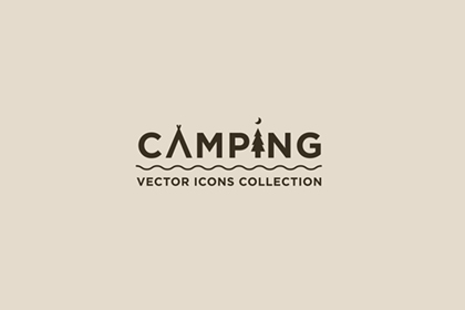 Camping : 40 Free Vector Icons