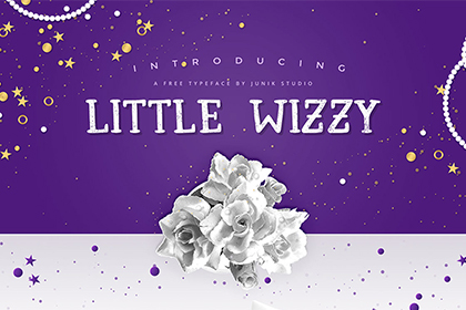 Little Wizzy - Free Typeface