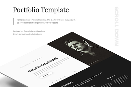 Portfolio Website - Personal & Agency