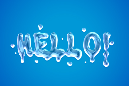 Free Liquid Text Styles