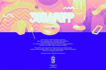 Soda Popp Font Family - Free Demo