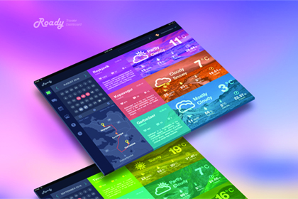 Roady - Traveler Dashboard