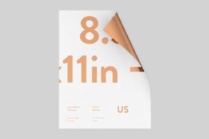 Free US Paper Mockup