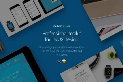 Module 02 UI Kit – Free Sample