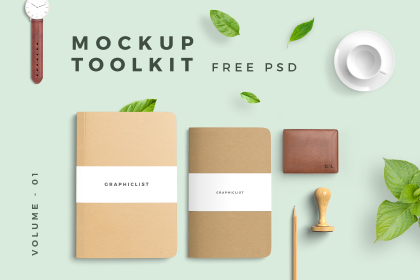 Free Mockup Toolkit Vol-01