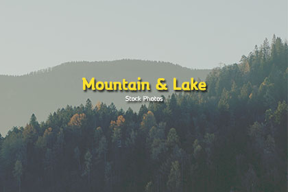 Mountain & Lake Stock Photos