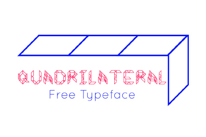 Quadrilateral - Free Font