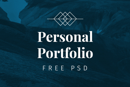 Free - Portfolio PSD Template
