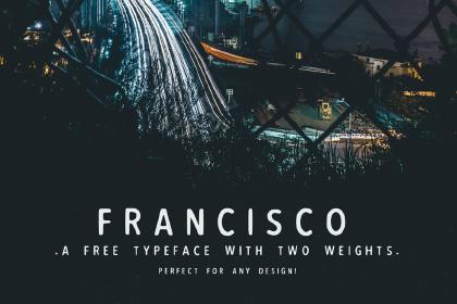 Francisco Free Font