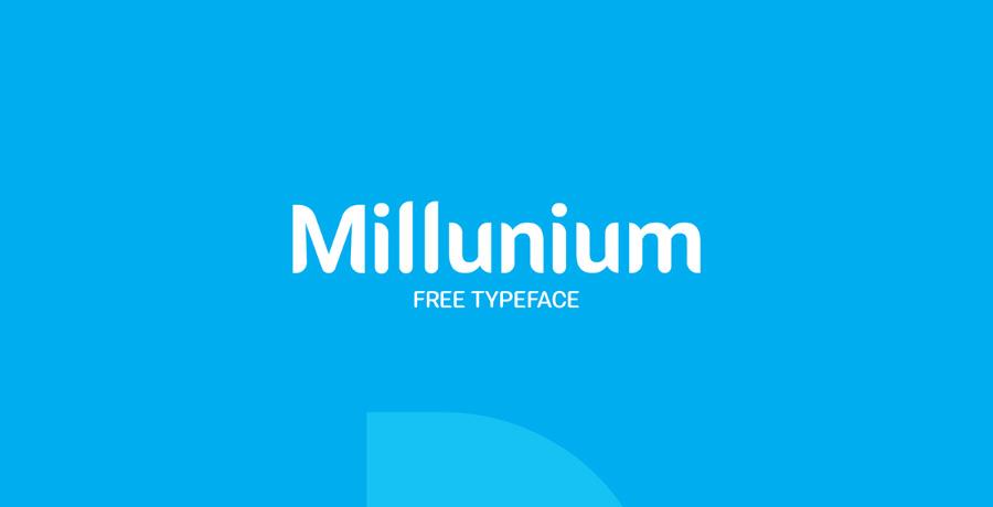 Millunium Free Font