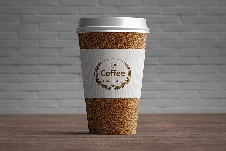 Paper Coffee Cup Mockup - Free Design Resources