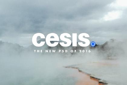 Cesis PSD Template - Free Demo
