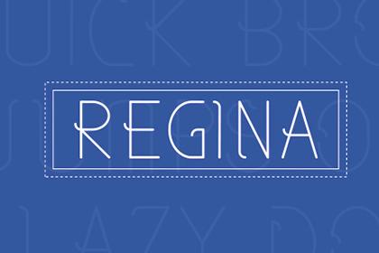 Regina - Free Typeface