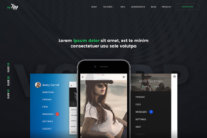 VSAPP – PSD Template
