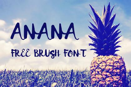 Anana Free Font