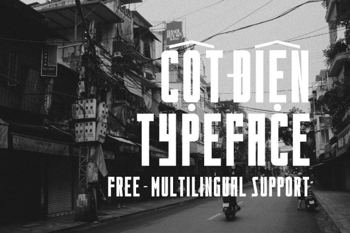 Cot Dien Typeface Free Demo
