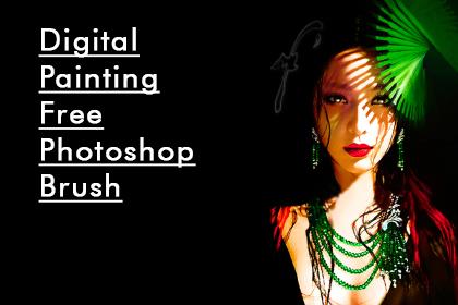 Digital Painting Free Photoshop Brush