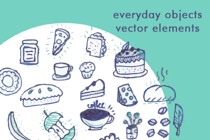 Everyday Objects Vector Elements