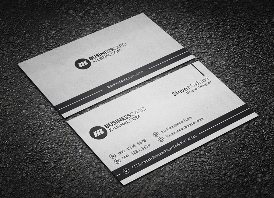 Grungy business card template free design resources grungy business card template reheart Images