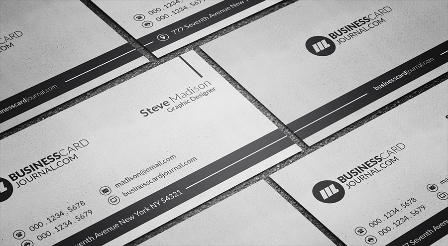 Grungy business card template free design resources grungy business card template reheart Image collections