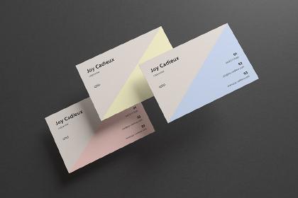 Modern Stylish Business Card Mockup