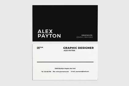 Stylish Business Card Free Template