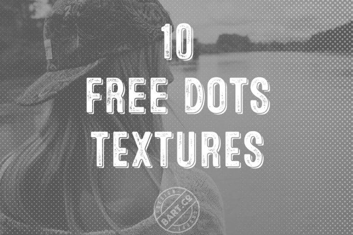 10 Free Halftone Dots Texture