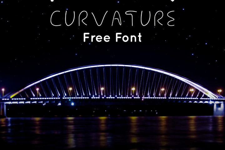AX Curvature Free Typeface