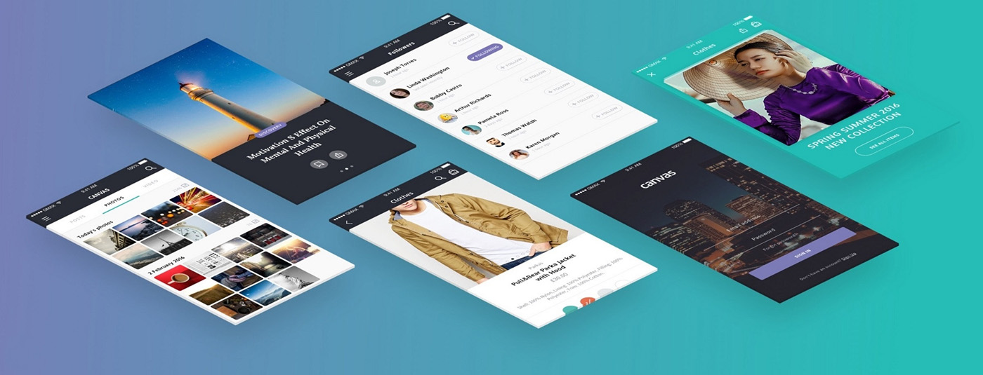 Canvas UI Kit Free Demo