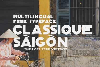 Classique Saigon Free Typeface