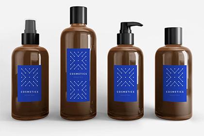 Cosmetics Mockup Set Free Sample