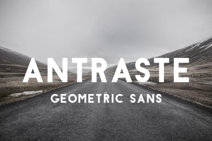 Free Antraste Geometric Sans